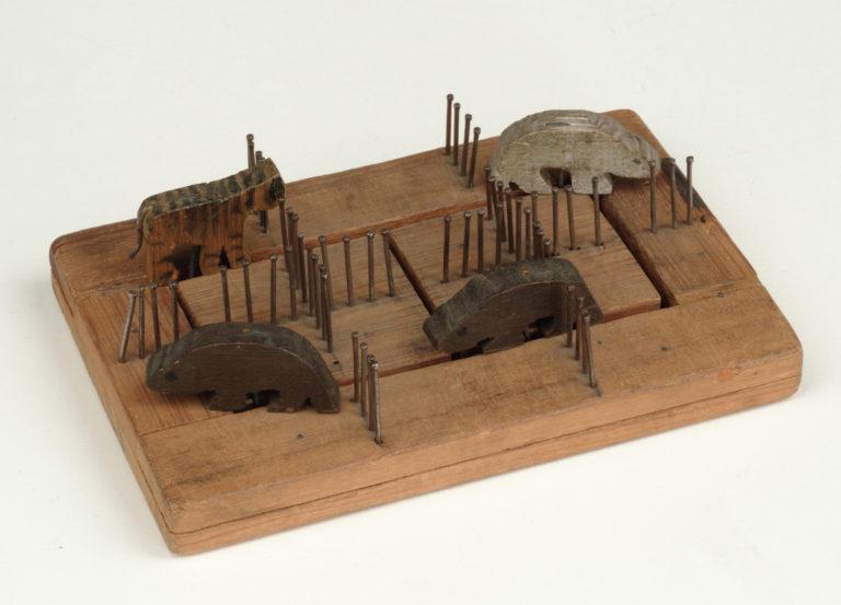 Alexander Calder. Animal Zoo Puzzle, 1911-1912. Regalo de Margaret Calder Hayes, Class of 1917.