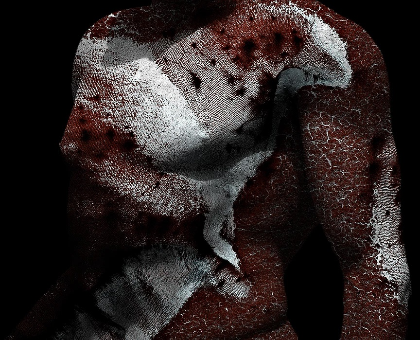 Antonio Briceño. Serie La piel de Marte 9.