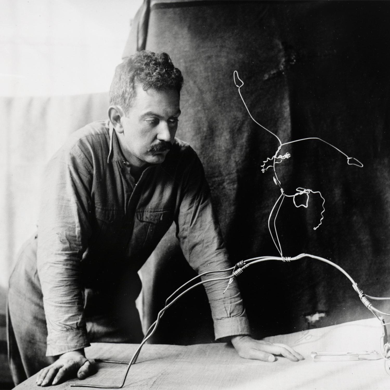 Calder con acróbatas 1929