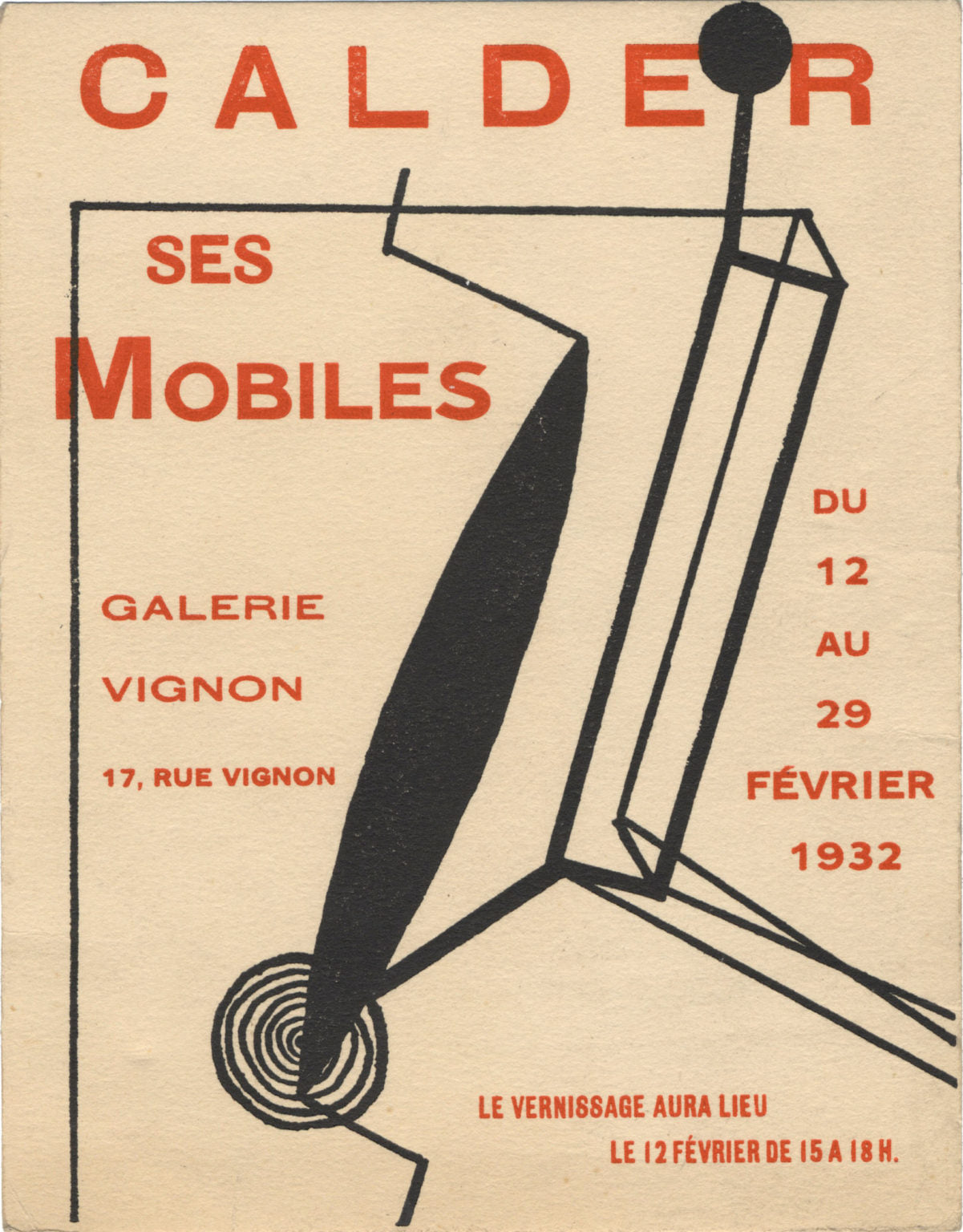 Duchamp nombró la exposición de móviles de Calder en 1932