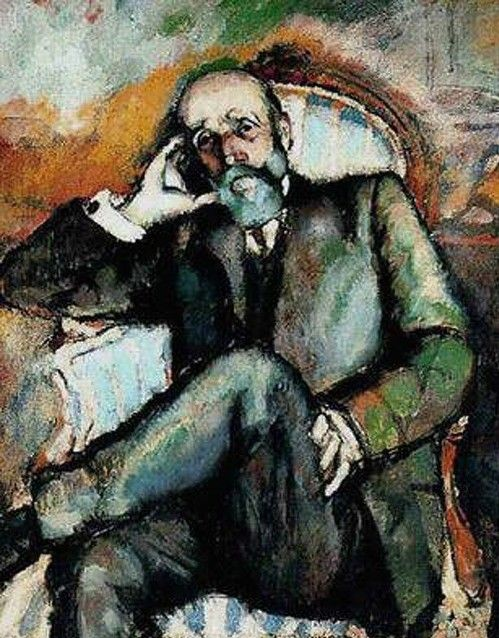 Marcel Duchamp. Retrato del padre, 1910.