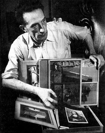 Marcel Duchamp. Boite en valise.