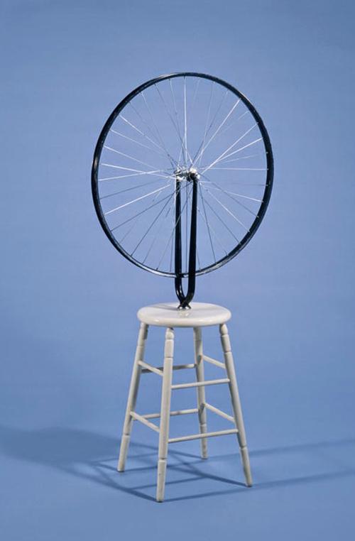 Marcel Duchamp. Rueda de Bicicleta