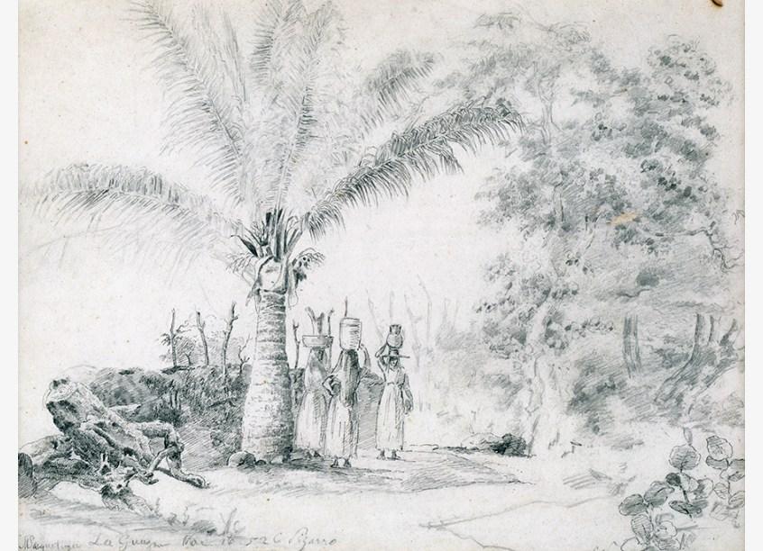 Camille Pissarro. La Guaira, 1852. Colección Patricia Phelps de Cisneros.