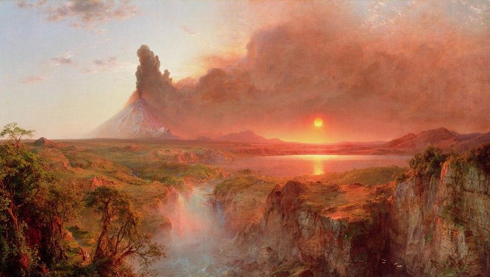 Frederic Edwin Church. Cotopaxi, 1862.