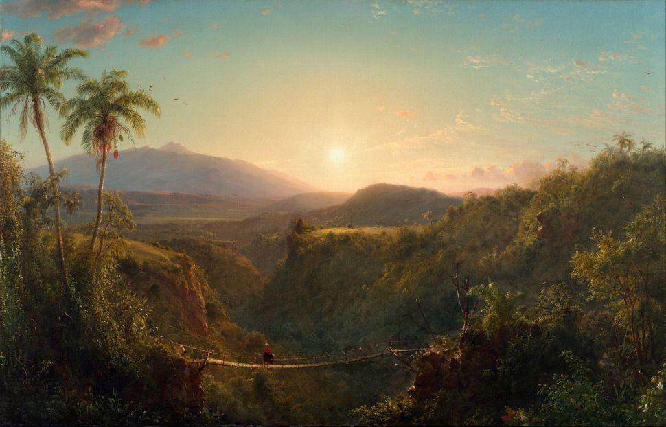 Frederic Edwin Church. Pichincha, 1867. Philadelphia Museum of Art