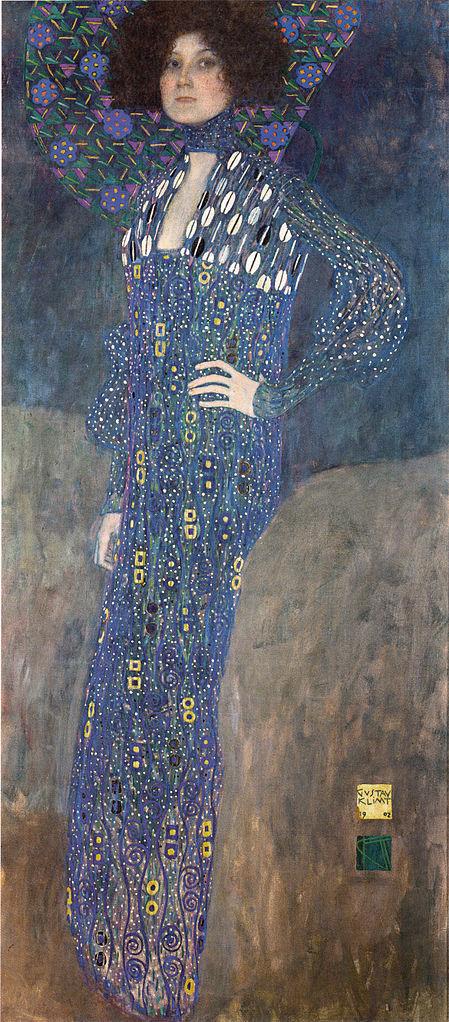 Klimt, Emilie Flöge, 1902.