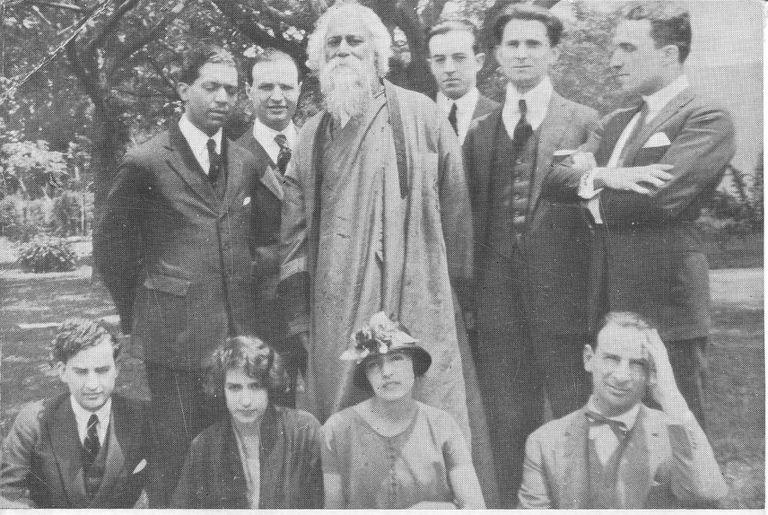 En la casa de Victoria Ocampo en Mar del Plata año 1924