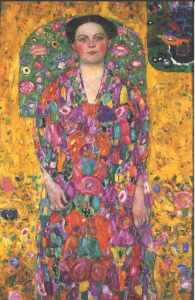 Klimt. Bildnis, Eugenia Primavesi 1913