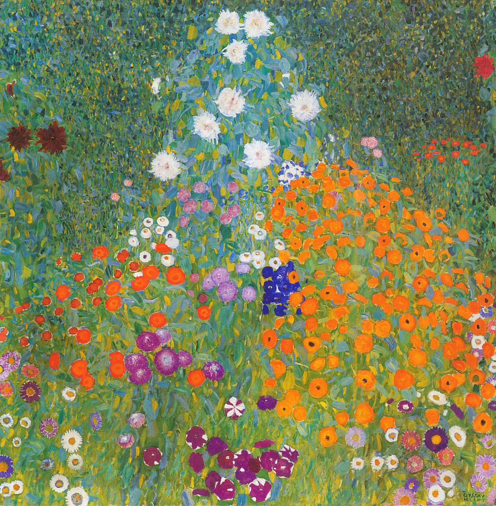 Klimt, Cottage Garden 1905