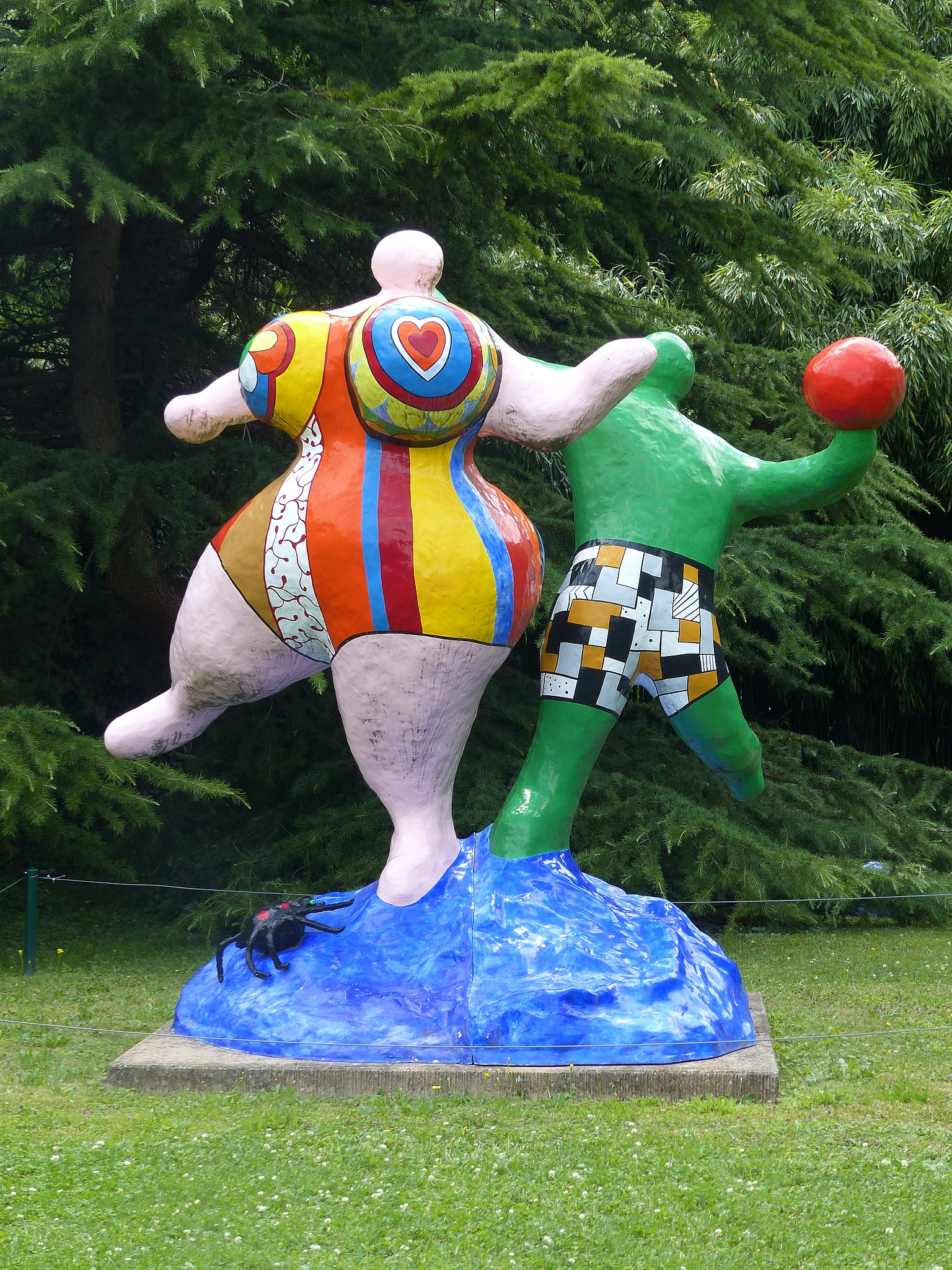 Niki de Saint Phalle. Les Baigneurs.