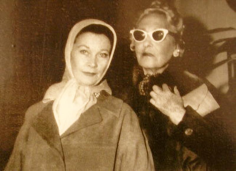 Vivian Leigh y Victoria Ocampo
