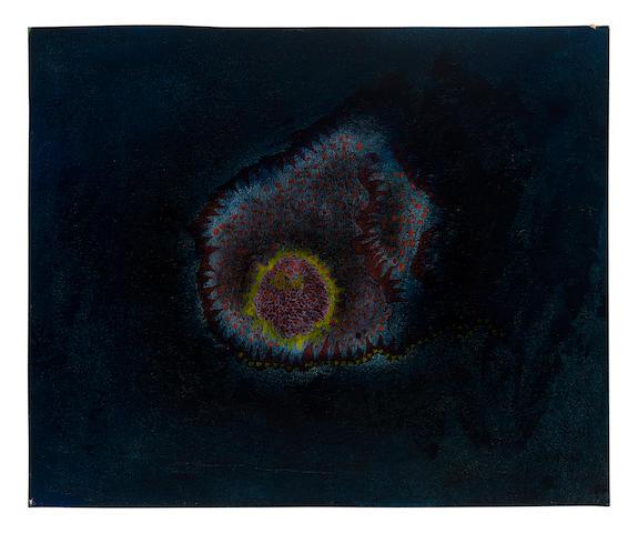 Yayoi Kusama. Untitled, 1952. Cortesia de Bonhams.
