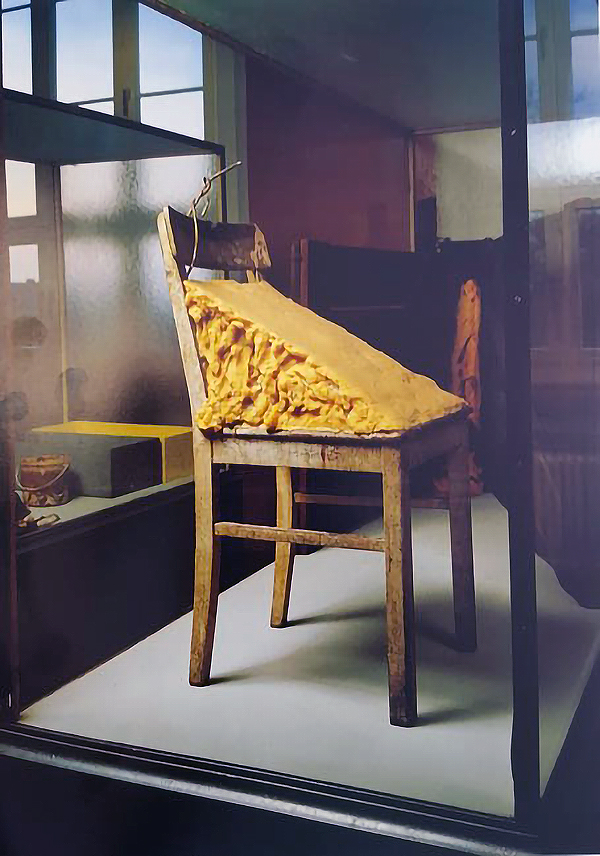 Joseph Beuys. Silla de grasa, 1964