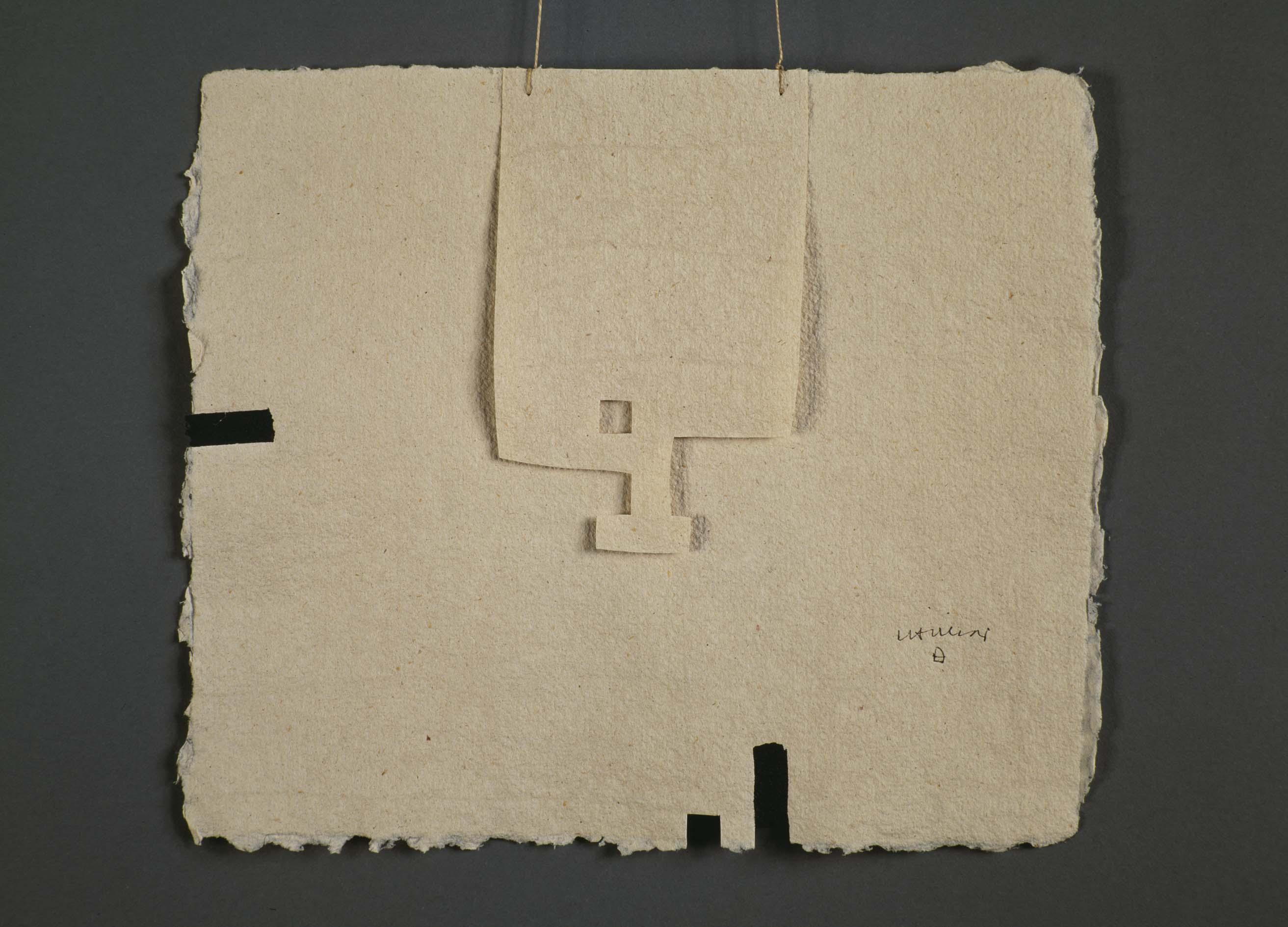 Eduardo Chillida Gravitación I. Museo Reina Sofía. 1987-88