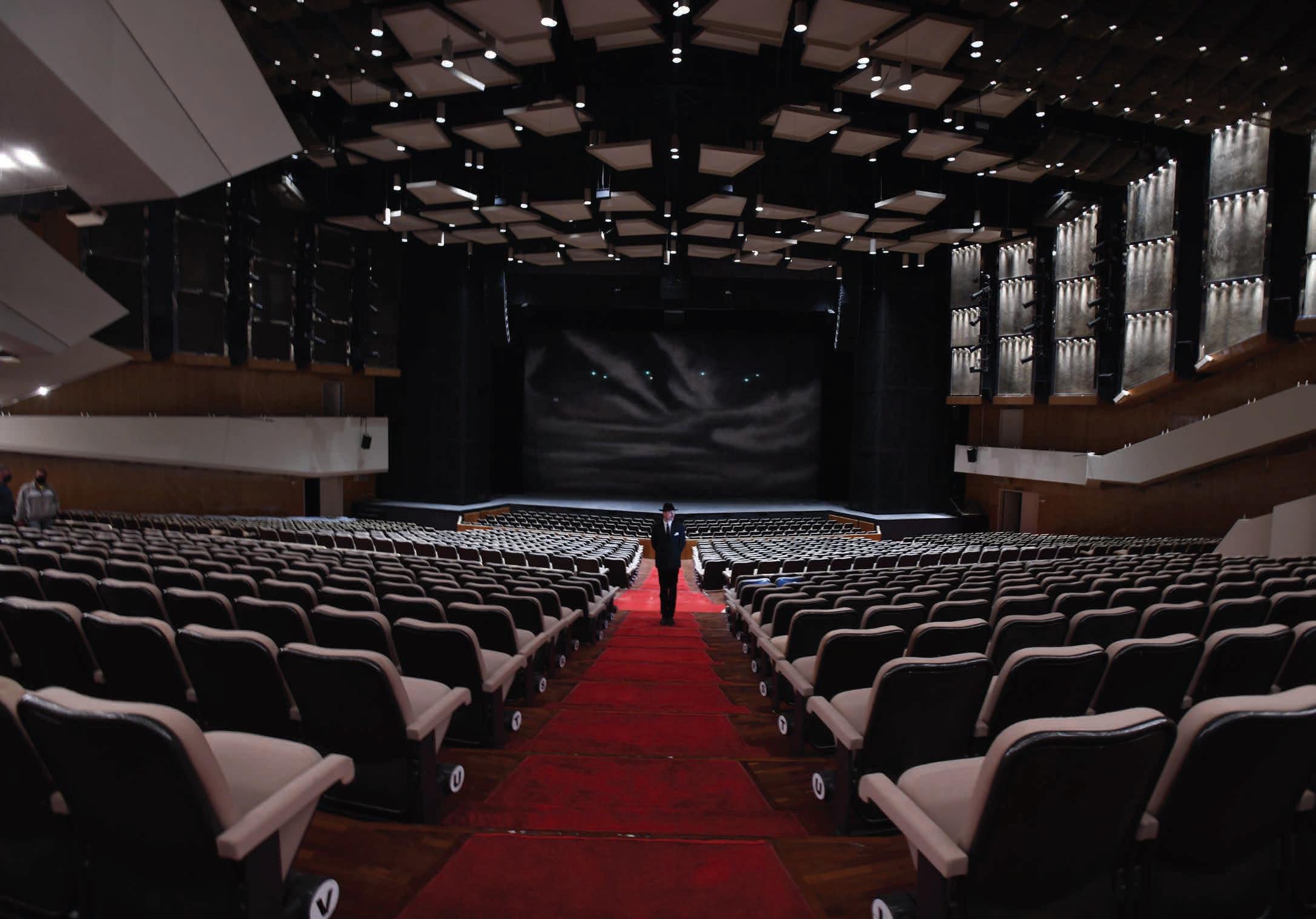 Mauricio Donelli Sala Ríos Reyna Teatro Teresa Carreño.  Serie Hilos de Fe.