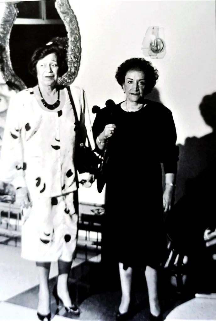 María Teresa Castillo y Aura Sarabia