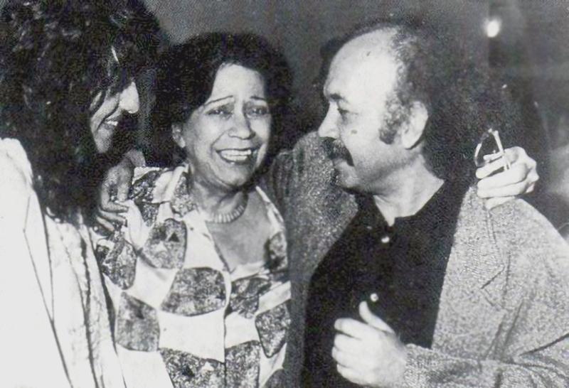 María Teresa Castillo y Jacobo Borges.
