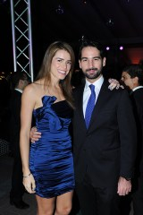 Miguel Olano y Mariela de Olano