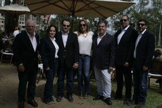 Alfredo Vetencourt, Corina Gonzalo, Omar Pérez, Gabriela Gruber, Julio Aray, Carlos Loyo y Santiago Gimón