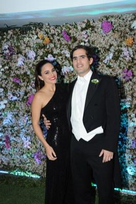 Corina Thermiotis y Eduardo Borberg
