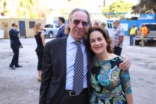 Massimo Valentini y Verónica Cervera