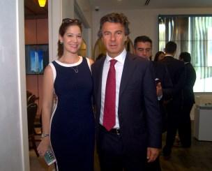 Sabina Covo y Ugo Colombo