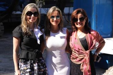 Jessica Juliao, Patricia Gómez y Lyda Juliao