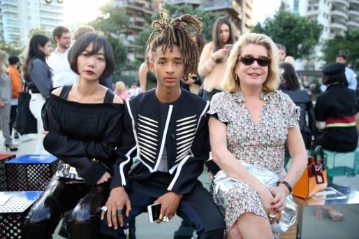 Doona Bae, Jaden Smith y Catherine Deneuve