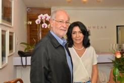 John Machado y Marlene Lazarde (mamá y socia de Ruth Sánchez-Bueno)