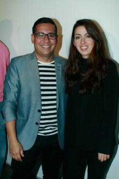Sergio Moreno y Ximena Borges