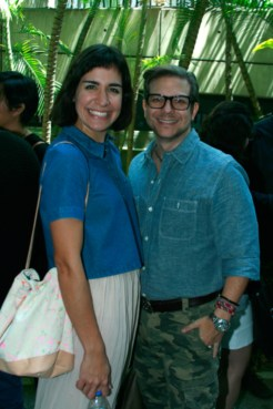 Vanessa Boulton y Fernando Delfino