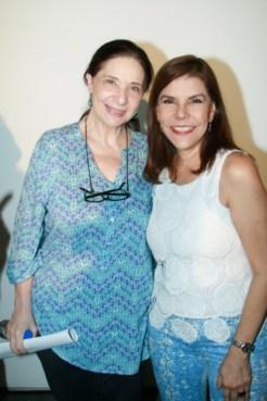 Isabel Palacios y Eva Gutierrez