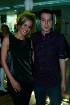 Valeria Valle y Jorge Malavé