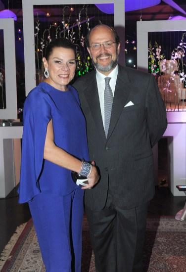 Vicente Pérez Dávila y Elisa de Pérez