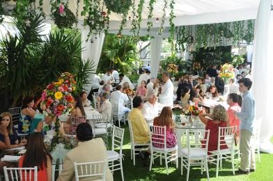 Ambiente en la boda