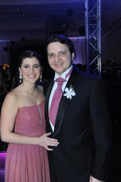 Karina De Azevedo y Mario Tepedino