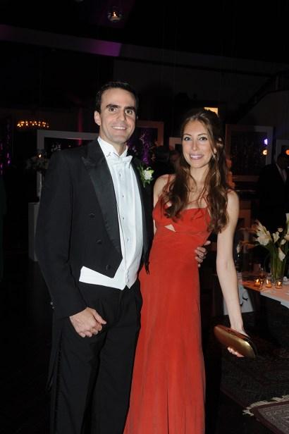 Juan Pablo Egui Stolk y Alejandra Miller
