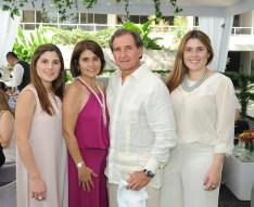 José Ignacio Baldo, Maite Ayala de Baldo, José Antonio, María Ignacia y Mariana