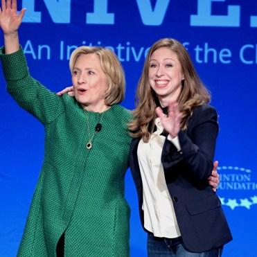 Hillary y Chelsea Clinton