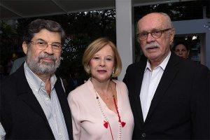 Alberto Veloz, Edna de Briceño y Leopoldo Briceño