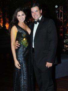 Sara Briceño e Inmer González