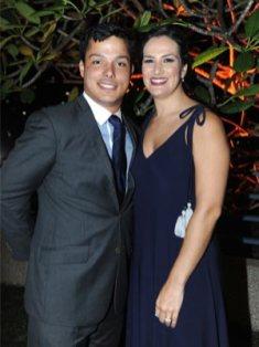 Ricardo Hoffmann y Daniela de Hoffmann.