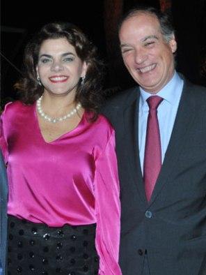 María Corina de Velutini y Juan Velutini