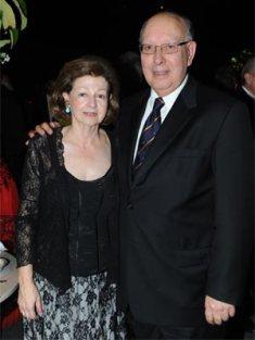 Carmencita Candia de Ibarra y Gonzalo Ibarra