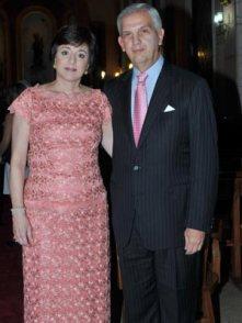 Gonzalo Báez Duarte y María Antonia de Báez