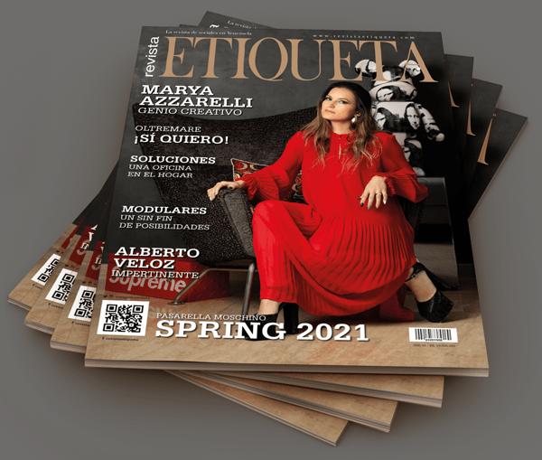 portada revista etiqueta