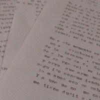 Poética del aspirante a escritor feliz