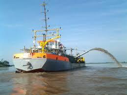 Finalizan el dragado del Río Uruguay.