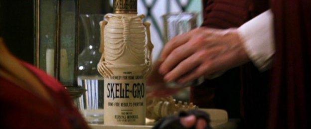 A garrafa de Skele Gro